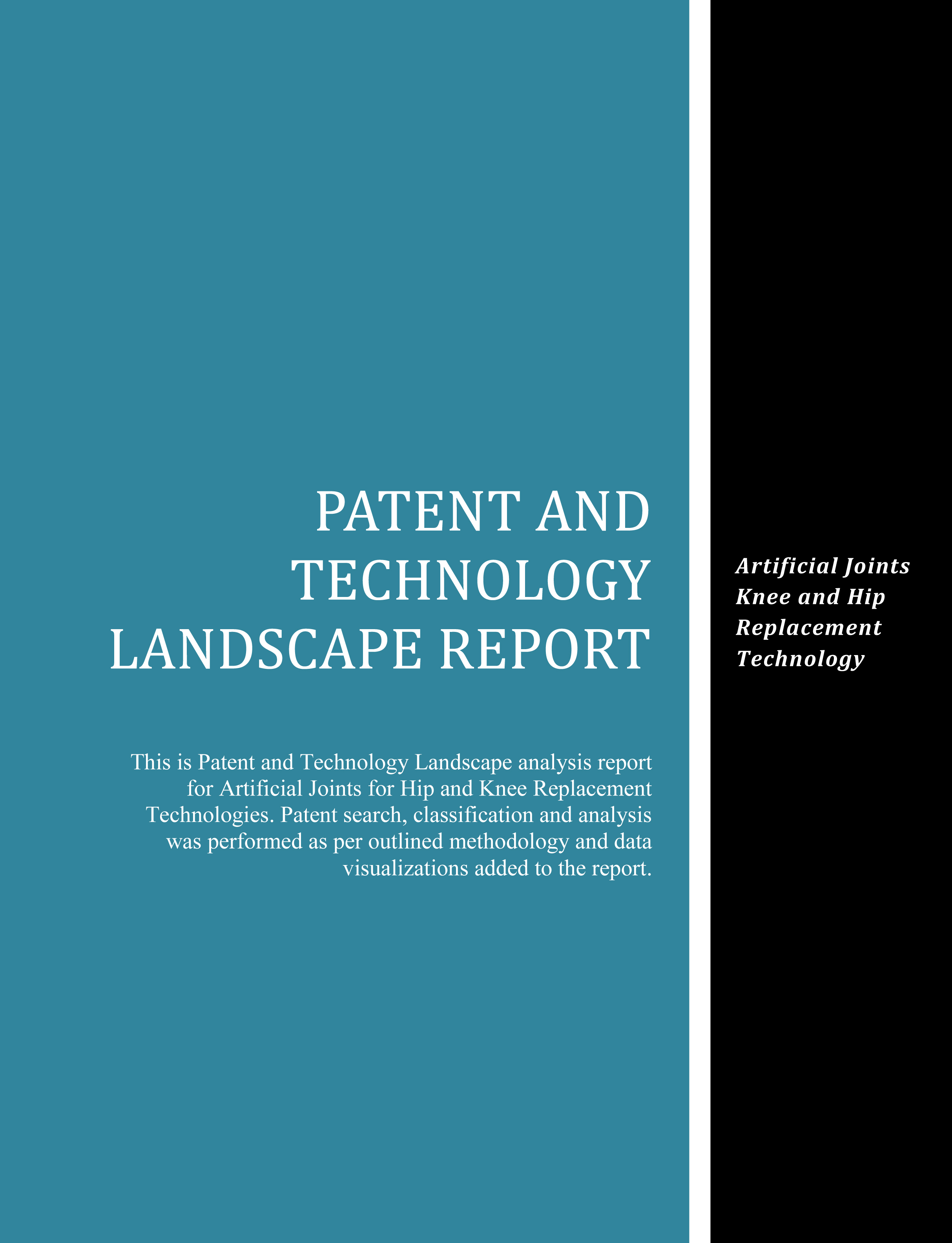 Artificial Joints Patent Technology Landscape Report